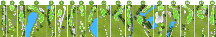Sanctuary Ridge Golf Club Course Layout